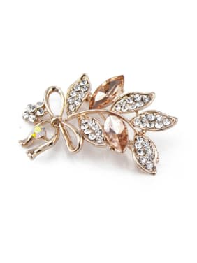 Rose Gold Leaf Brooch