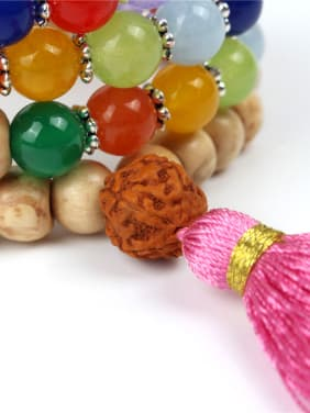Wooden Beads Multi-layer Colorful Bracelet