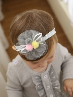 Flower bady headband