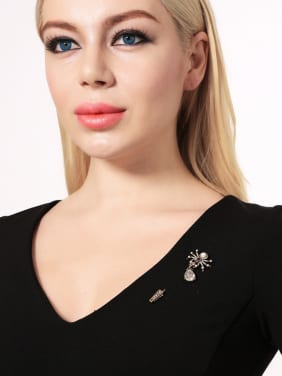 Retro Style Spider Shaped Personality Alloy Brooch