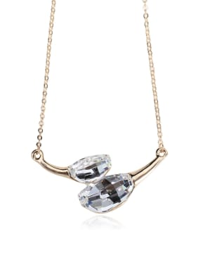 Gorgeous Unique New Shaped Crystal Swarovski element crystal necklace