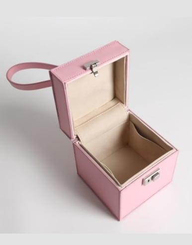 Square box Mini-Handle Bag