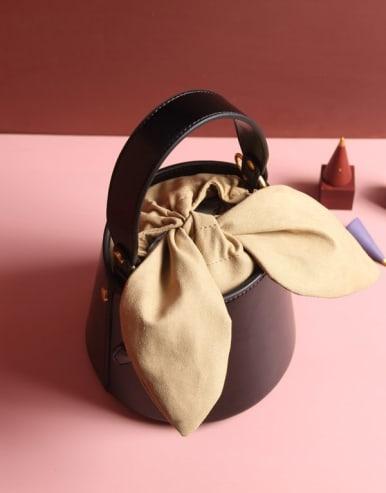 Cute bow Bucket bag/Shoulder Bag