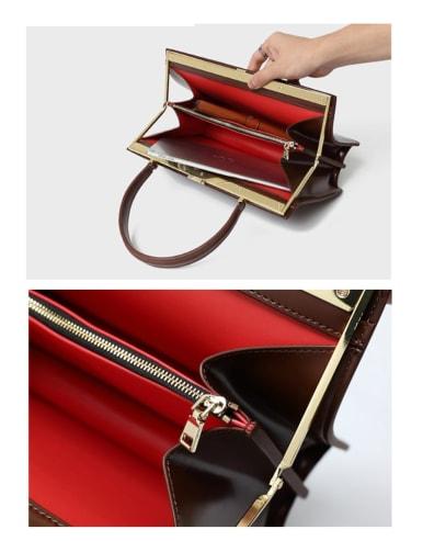 Vintage and versatile briefcase, multi-color optional