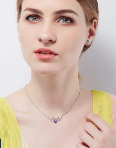 Swarovski Crystal Heart-shaped Set