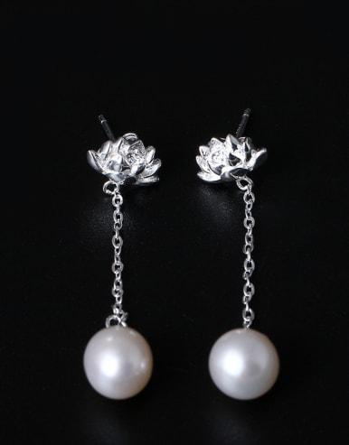 Creative Design Flower drop earring