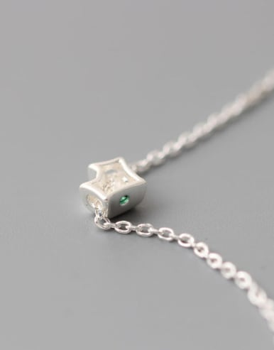 Lovely Fox Pendant Clavicle Necklace