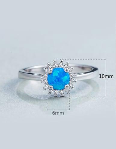 2018 Geometric Shaped Engagement Ring