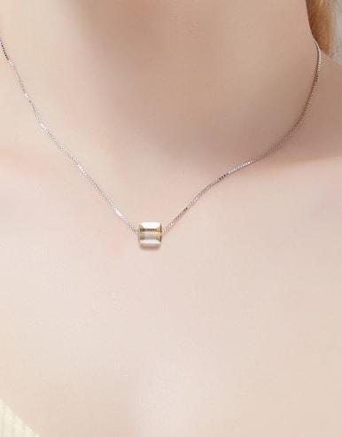 Swarovski Crystals Square-shaped Necklace