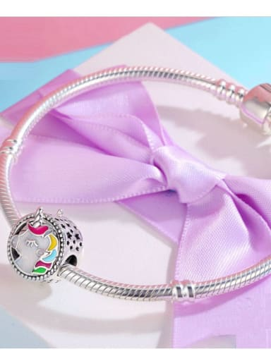 925 silver unicorn charm