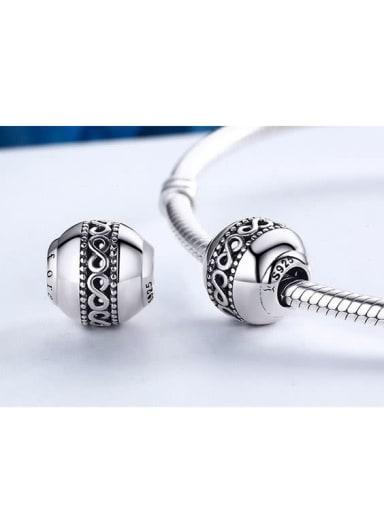 925 Silver Endless Symbol charm