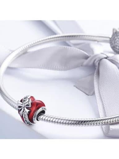 925 silver heart charm
