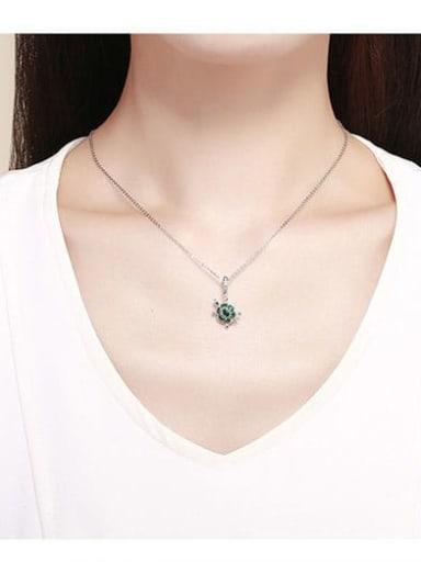 925 Silver Cute Turtle charm
