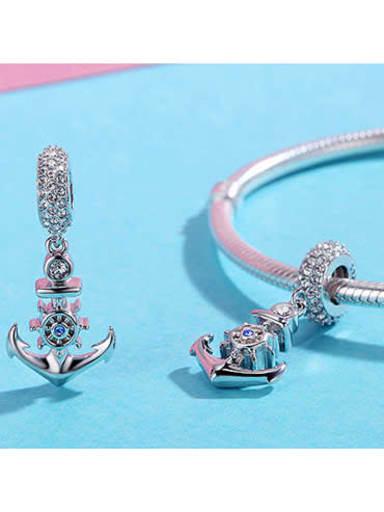 925 silver anchor charm