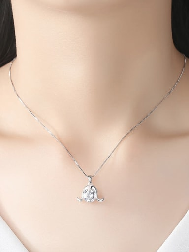 925 Sterling Silver With 12 Constellations Necklace