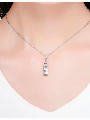 925 Silver Big Ben charm