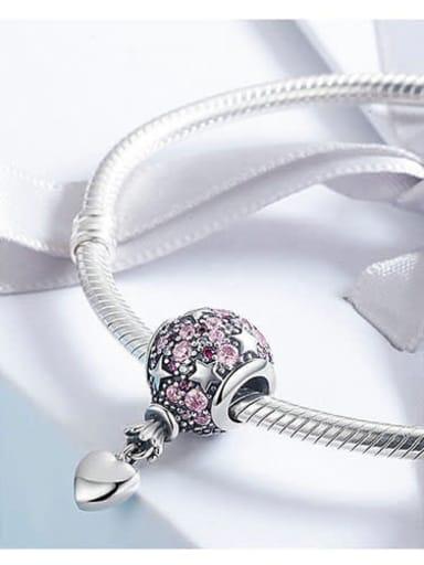 925 silver balloon charm