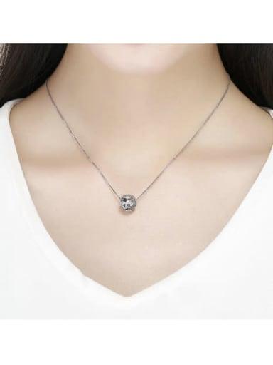 925 silver leaf charm