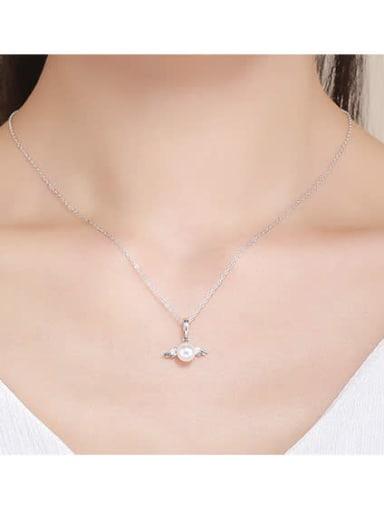 925 silver cute angel charm