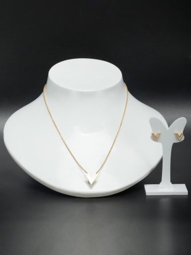Fashion Stainless steel 2 Pieces Set