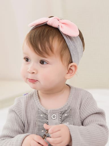 70461 Korean new children's hair ornaments, hair ribbons, lace, baby hair, baby products