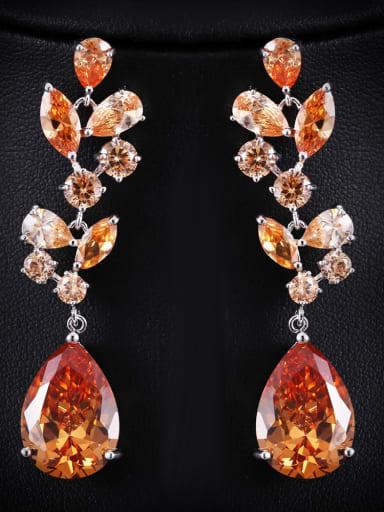 Luxury long earrings