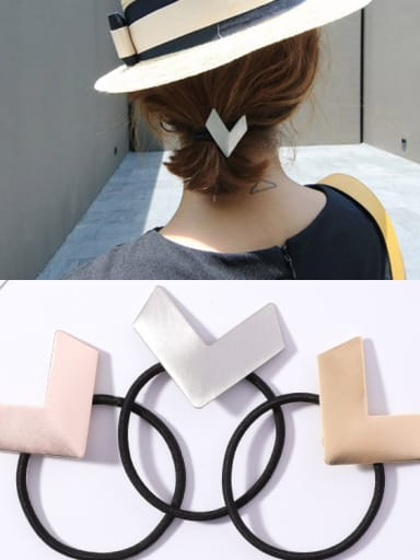 Simple and generous V-shaped Hair Ropes