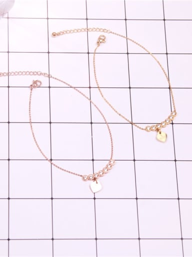 Lucky Zircons Temperament Fashion Anklet