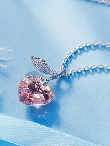 2018 Heart Shaped Swarovski Crystal Necklace