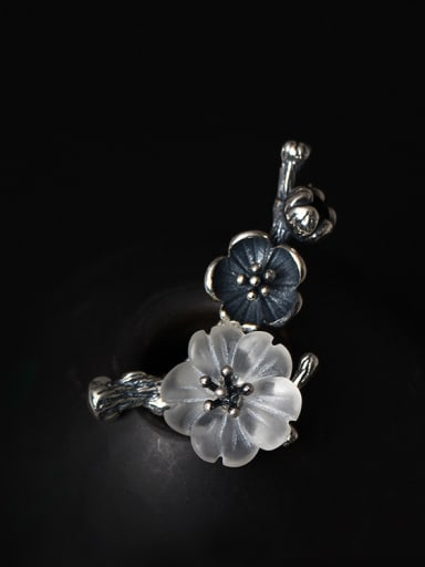 Retro Design Crystal Women Brooch