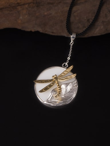 Individuality Dragonfly Pendant Necklace