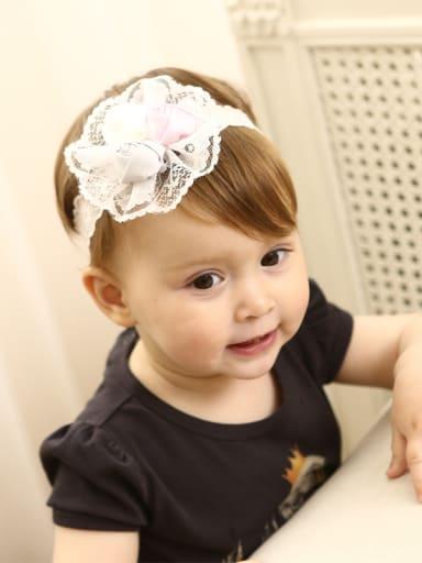 Lace Rose bady headband