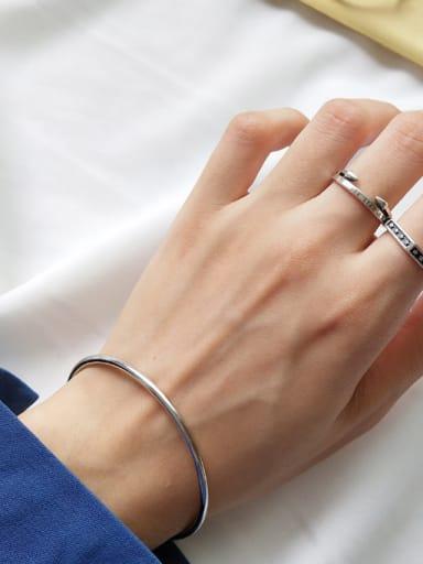 Sterling Silver minimalist bracelet