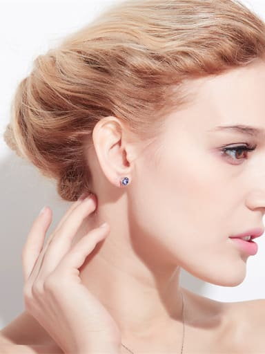 Round Shaped stud Earring