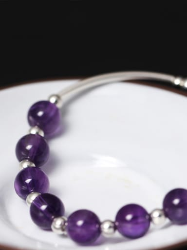 National Amethyst Sweet Women Bracelet