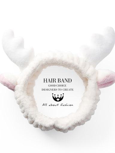Velvet Cartoon Elk Antler Hair Ribbon