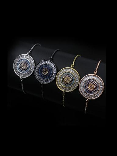 Turquoise Zircon Bracelet