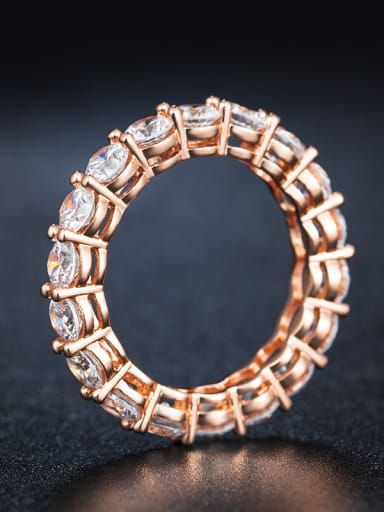 2018 Round Zircon Ring