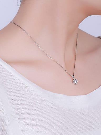 Simple Zircon Necklace