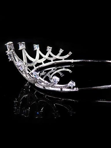 Exquisite Sparking Western Style Luxury Wedding Hair Accessories