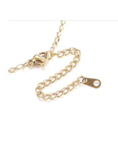 Stainless Steel With Imitation Gold Plated Trendy Chain Findings & Components
