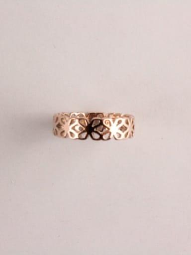 Hollow Flower Fahion Women Ring