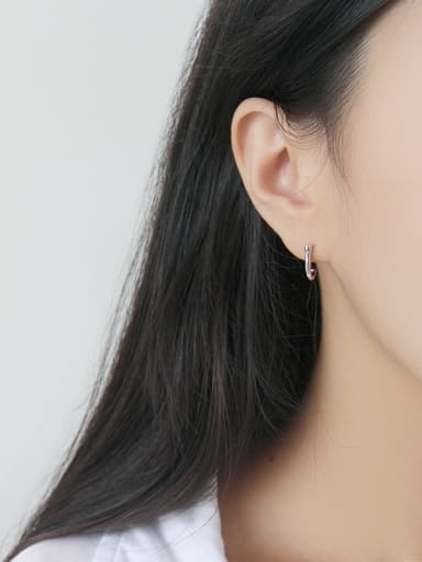 925 Sterling Silver  Classic Minimalist style Stud Earrings