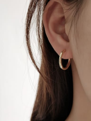 Sterling silver minimalist  irregular earrings