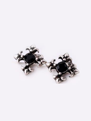 Alloy Retro Cross stud Earring
