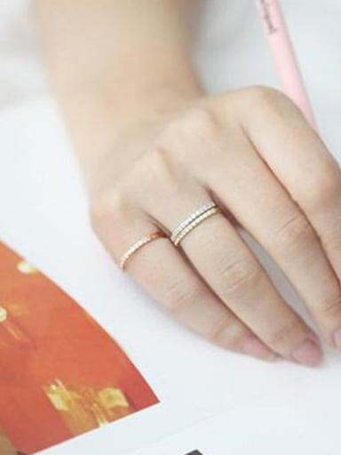 Single Line Simple Ring