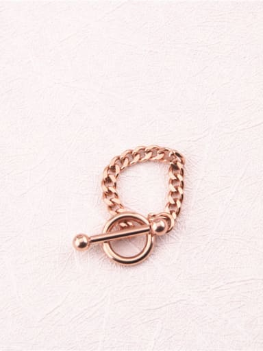 Personality Geometric Chain Ring