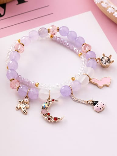 Alloy With Rose Gold Plated Fashion DIY Bracelets