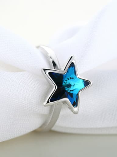 Five-point Star Shaped Ring