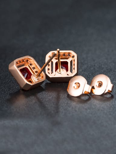 Square Zircon stud Earring